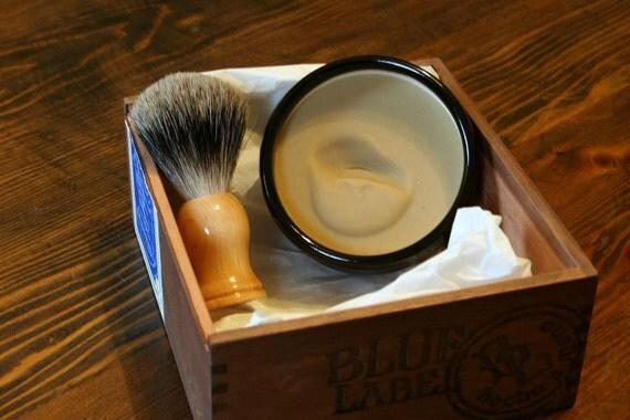 Deluxe Shaving Kit with Handmade Ceramic Bowl