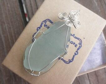 Sale Ocean Swirls Virginia Sea Glass Neckalce