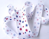 Star ribbon Destash Red White and Blue