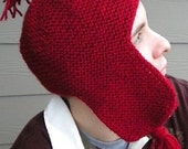 PATTERN (PDF) - Bozite Earflap Hat