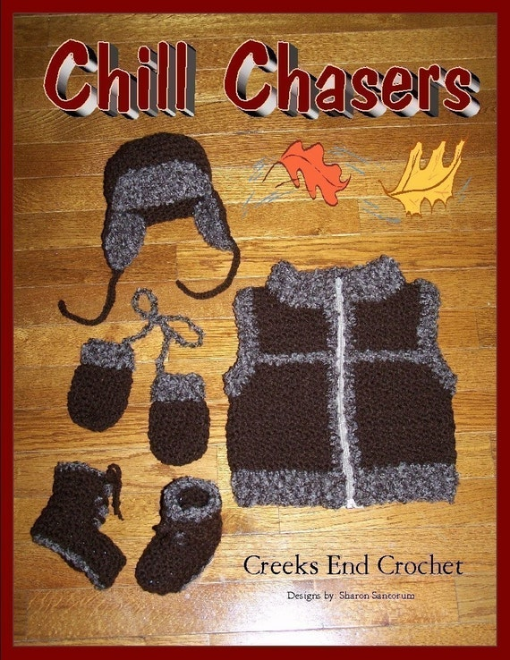Chill Chaser Layette crochet pattern pdf