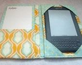 Kindle or Nook Reader Case-Nicey Jane Tangerine