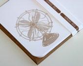 Retro Fan notecard set (6 cards)