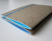 2 Moleskin Style Notebooks with Blue Paper