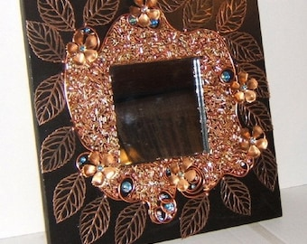 Copper Vine Mirror
