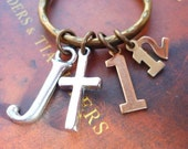 CHRISTIAN KEYCHAIN, Scripture Keyring, JAMES 1:12-Blessed is the one who perseveres under trial. Unique Christian Gift