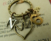 The Lord  bless you and keep you-Numbers 6:24-Christian keyring