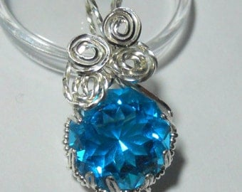 7.1 carats of Lazer Blue in Sterling Silver
