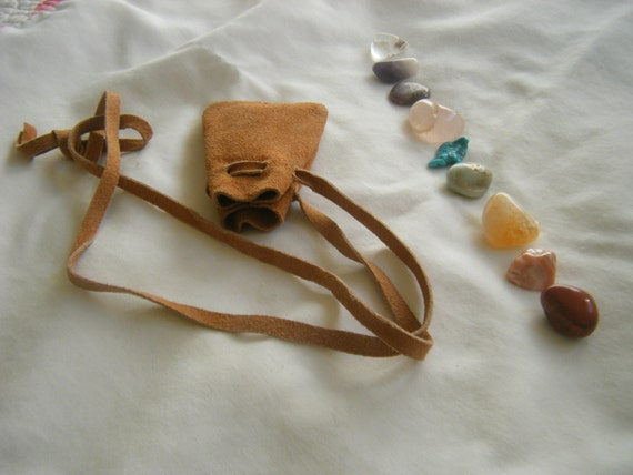 Crystal Pouch - Ascension - Chakra - Medicine Bag