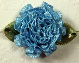 Blue Carnation Florets Embellishment