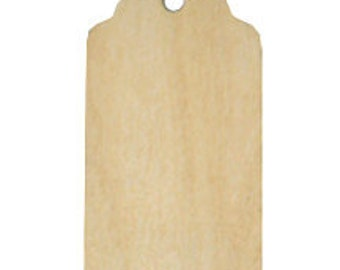 3 inch Fancy Wood Tag
