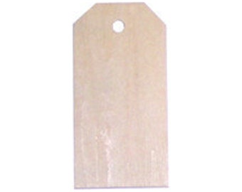 2 1/4 inch Wood Tag