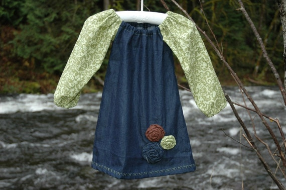 Sale Sale Sale The ISABELLA-BLEU  DRESS  Sugar-N-Spice only one left 12-18 Months
