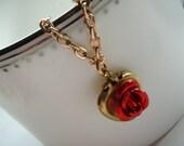Vintage Heart Locket Bracelet