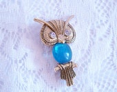 144.RESERVED-Owl Brooch