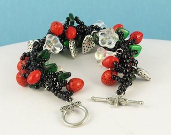 Strawberry Fields Forever  Bracelet