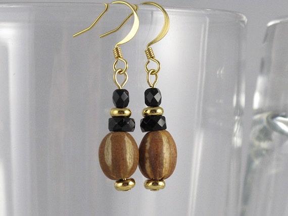Eco Friendly Elegance - Crystal Starfruit Earrings