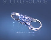 Sterling Silver Double Lobster Claw Clasp