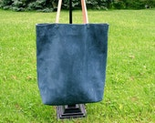 Large Suede Market Tote