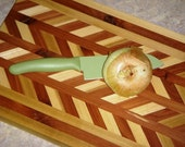 Cedar and Poplar Cutting Board