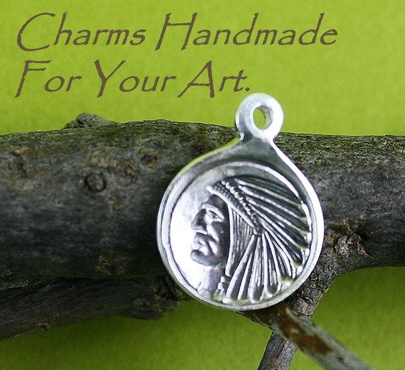 The Chief Handmade Charm For Your Art OOAK