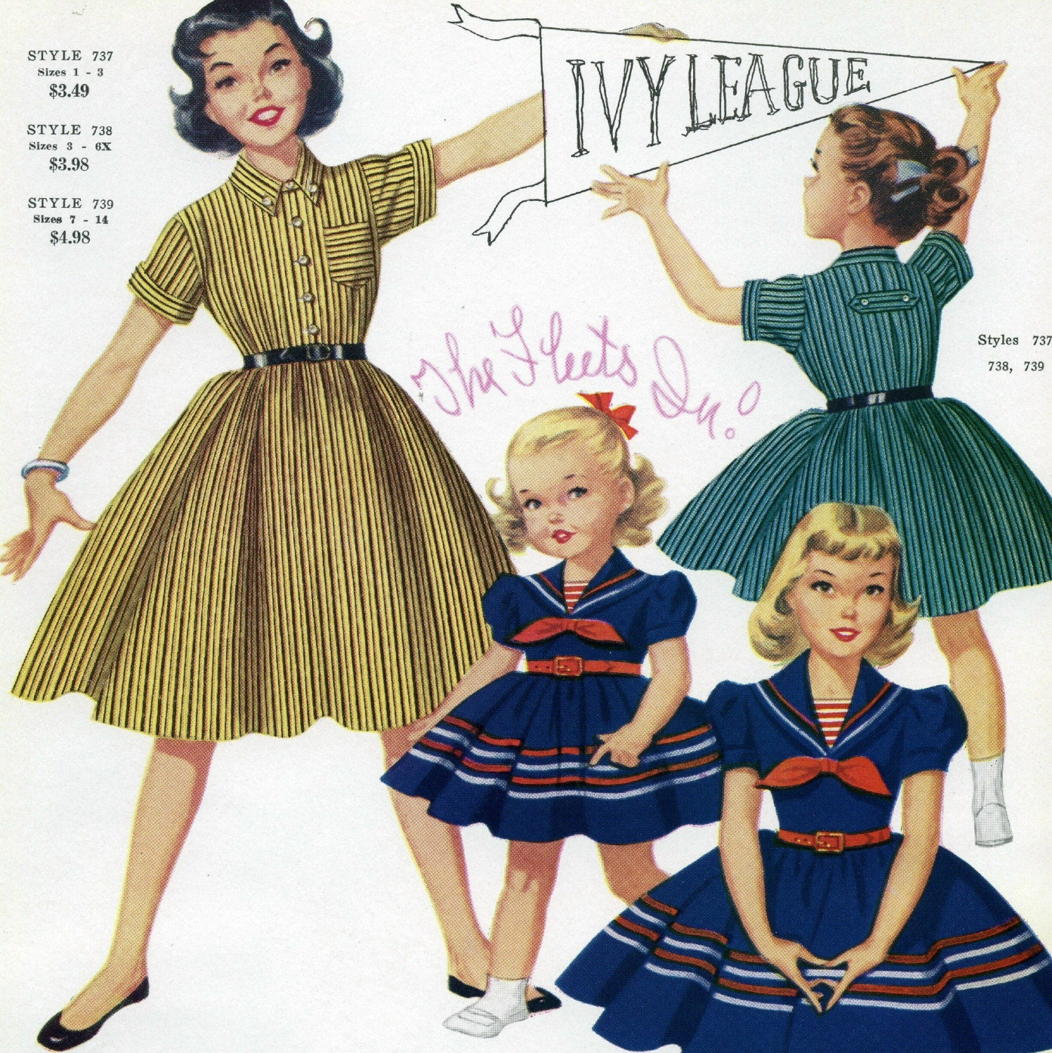 50s Clothes for Girls