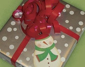 Blushing Snowman Tags - Set of 6