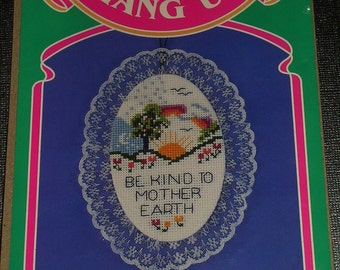 Be Kind to Mother Earth Cross stitch Magnet Kit