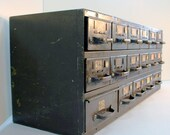 Metal Hardware Parts 17 Drawer Cabinet