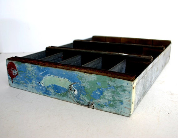 Vintage Divided Box / Industrial Organization