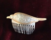Silver and Gold colored Hair Comb