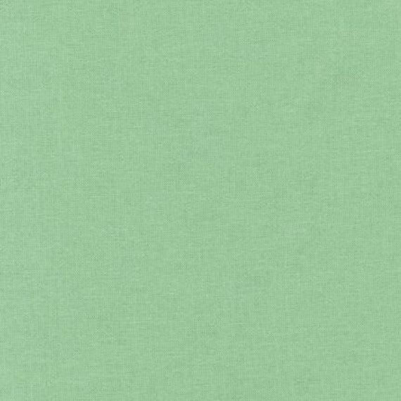 SALE - Kona cotton solid fabric, Robert Kaufman - Asparagus (green) - 1 yard - quilters cotton
