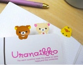 Rilakkuma San-x Sticker Bookmark Page Markers 2sheets