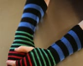 FingerFree Gloves - Rainbow Stripe