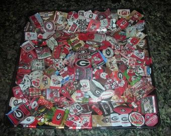 University of Georgia Bulldogs Plate