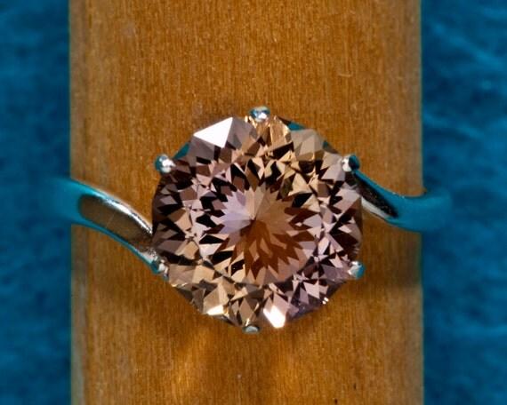 Ametrine Unique Alternative Color Engagement Ring 2.62 Ct, Gemstone Engagement