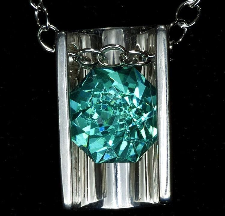 Mt St Helen S Rose Petal Gemstone Necklace By Janeysjewels