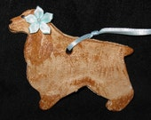 Little Cocker Spaniel Ornament