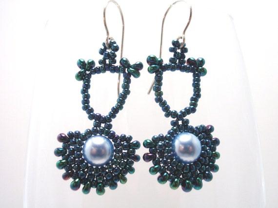 Beading Tutorial for Art Deco Earrings