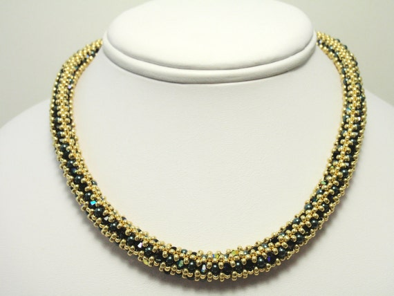 Beading Tutorial for Regency Rope Necklace