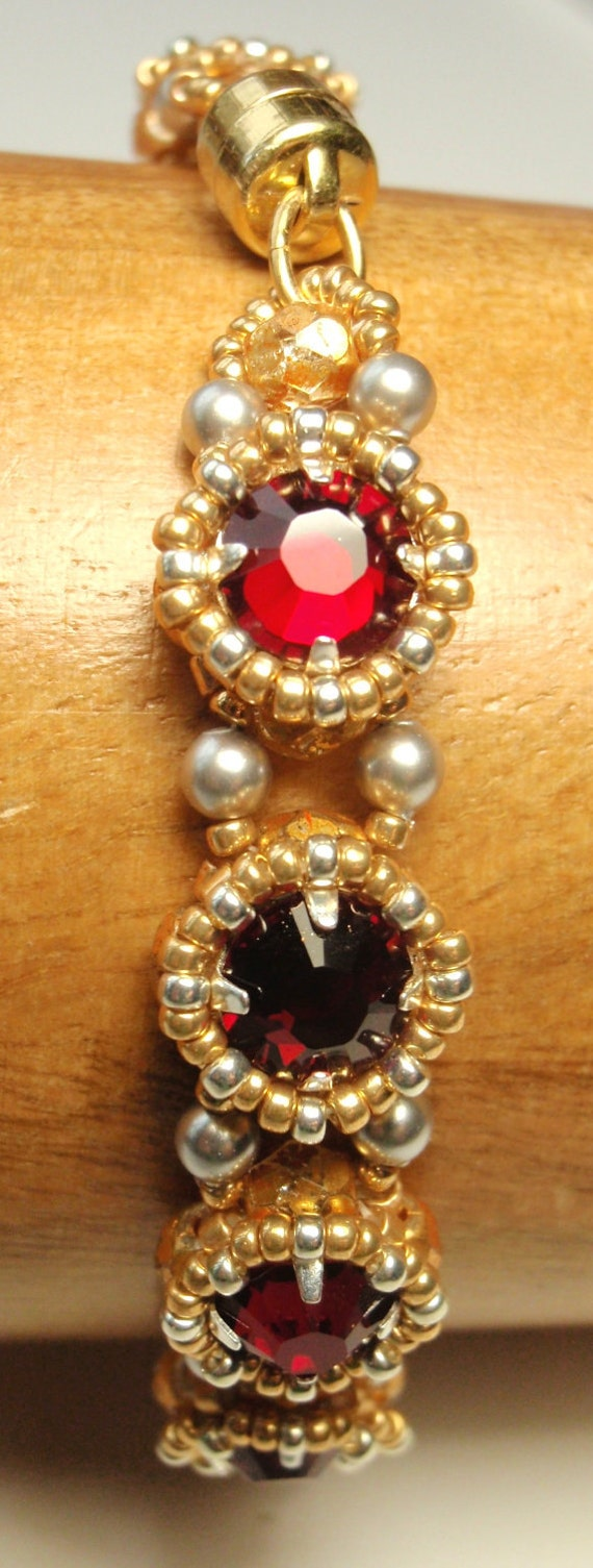 Beading Tutorial for Tudor Bracelet