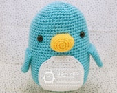 PDF Pattern  KOKO the signature PENGUIN  finished size 11 in. tall