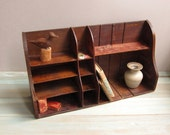Vintage Mail Sorting Hutch