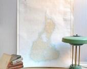 Vintage Nautical Map of Block Island, Rhode Island