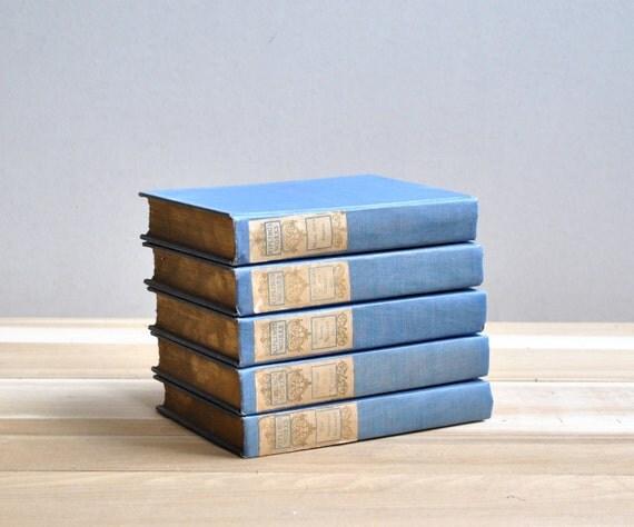 Rudyard Kipling Vintage Book Set