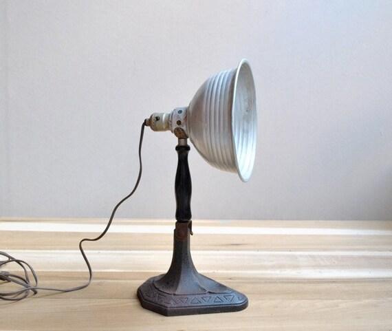 Desk Lamp Industrial Era Vintage