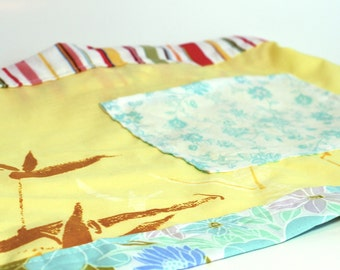 Floral Upcycled Child-Size Apron