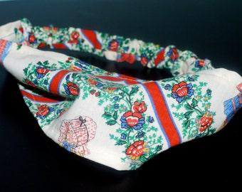 Fabric Headband Holly Hobby TODDLER Size