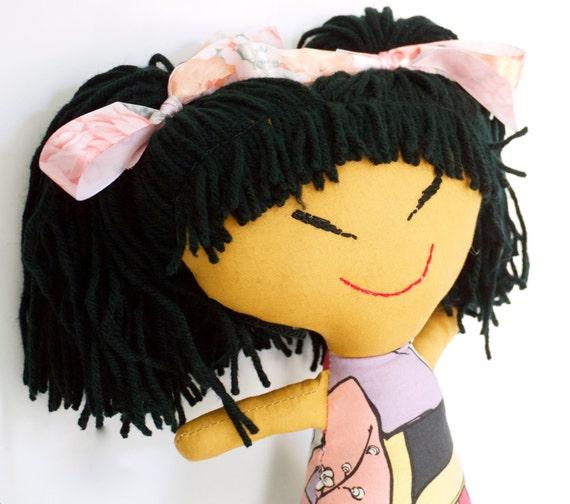 Handmade Asian Rag Doll OOAK