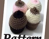 Crochet Cupcake boob PDF pattern